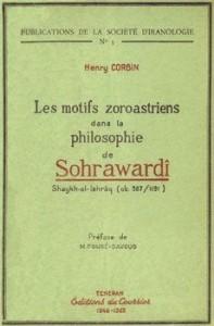 Couverture - Les Motifs zoroastriens dans la philosophie de Sohrawardi