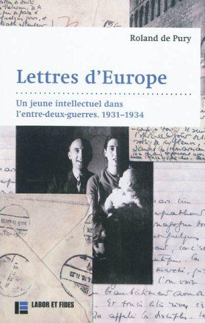 Rolland de Pury - Lettres d'Europe