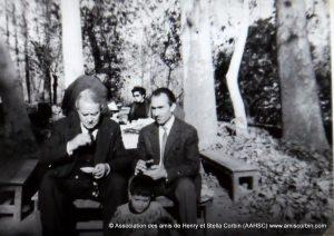 Corbin et Ali Akbar (Mokhtar) Tajvidi