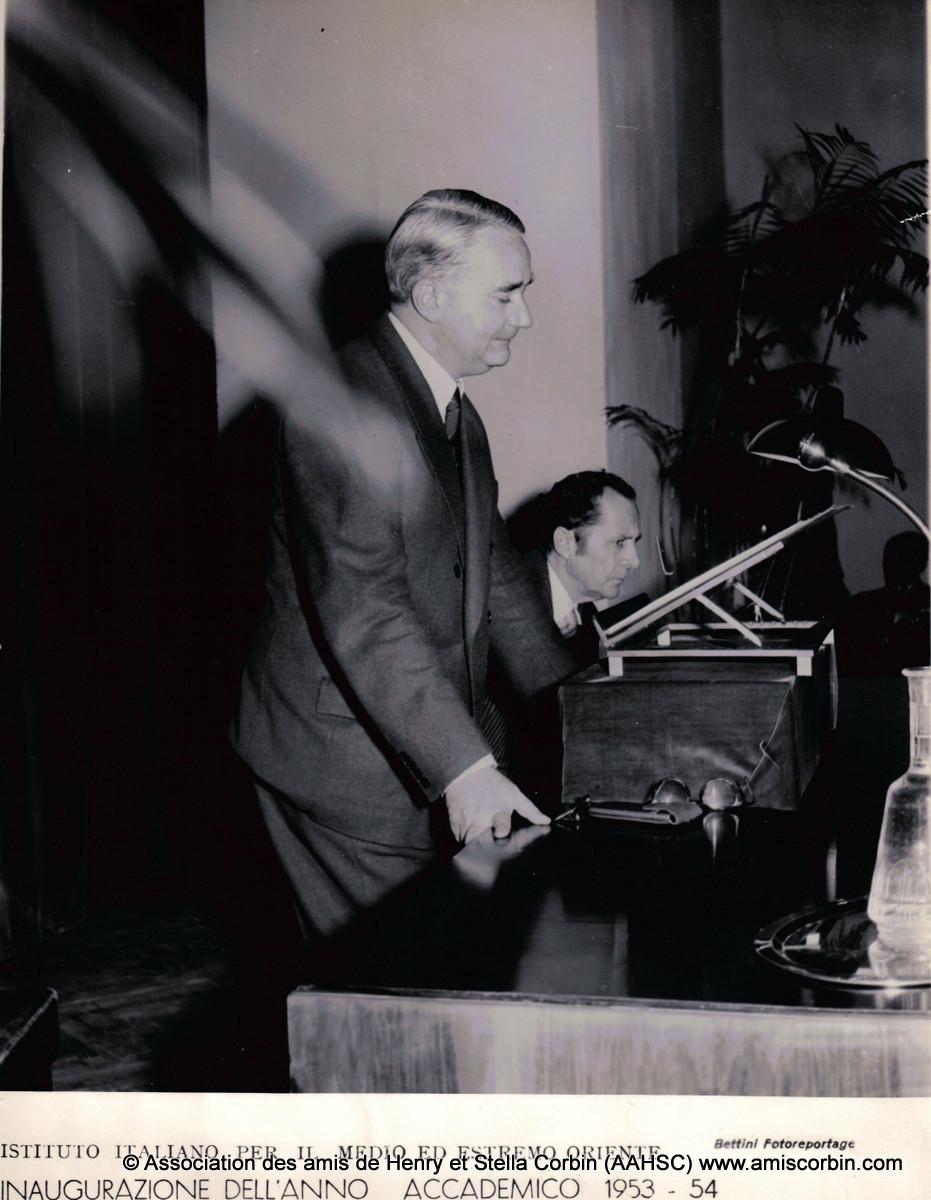 confrence 1953 – italie